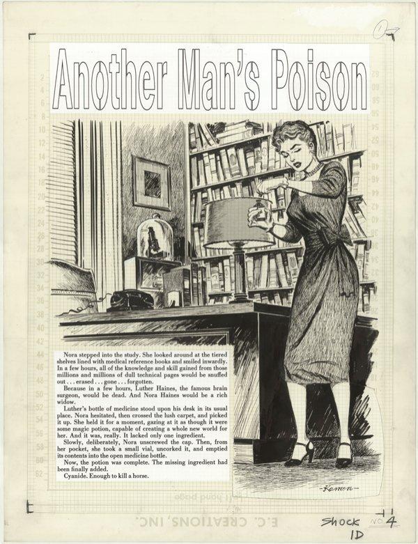254: Kamen Another Man's Poison SI 4 original comic art