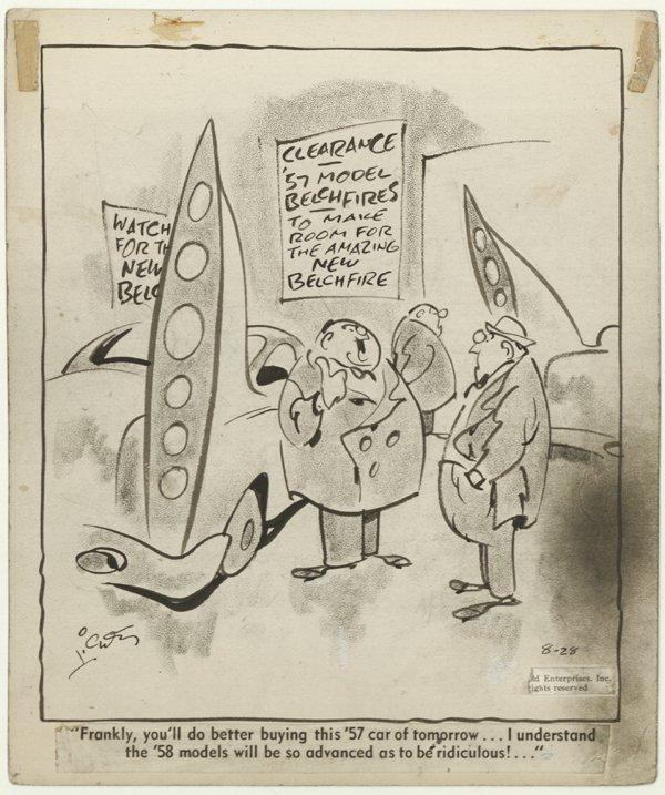8: Lichty 4 Grin and Bear It dailies original comic art