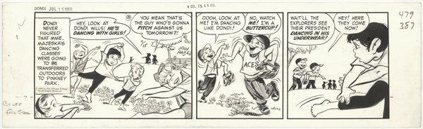 13: Hasen Dondi daily 7/15/68 original comic art