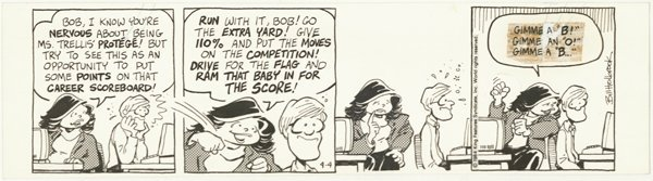 14: Holbrook On the Fast Track daily original comic art