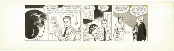 21: Drake Heart of Juliet Jones d original comic art
