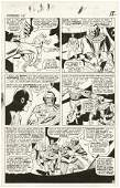 153: Heck / Ayers Avengers #24 p18 original comic art