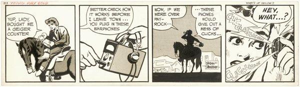 3: Matera Thorne Lawrence Longaron original comic art