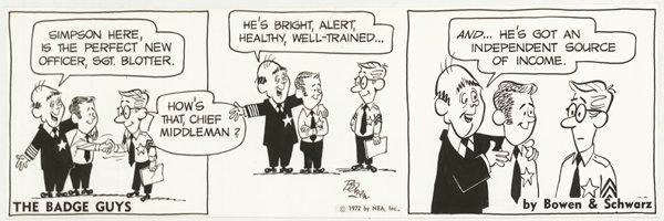 5: Bowen Howrilla Wilder Hill Post original comic art