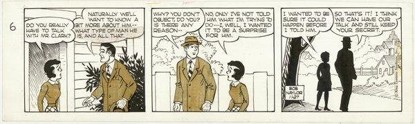 8: Big Sister by Forgrav Mack Naylor original comic art