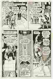 102: Swan Anderson Superman #258 p6 original comic art