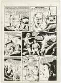 106: Tuska All New Short Story 2 p27 original comic art