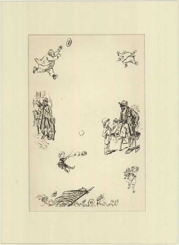 12: Birch Modern Mother Goose 1923 original art