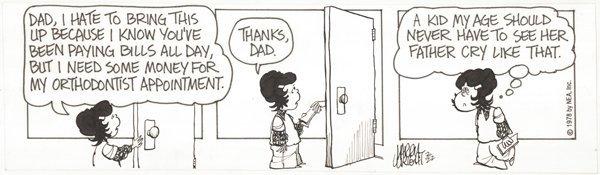 15: 6 dailies Laugh-In Tank McNamara original comic art
