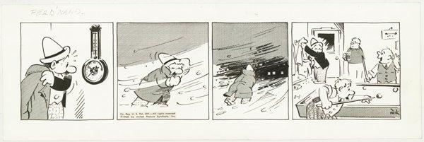 16: 6 miscellaneous dailies original comic art