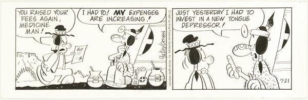 18: Yates Casson 4 Red Eye 1997 original comic art