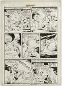 132: Tuska All New Short Story 2 p28 original comic art