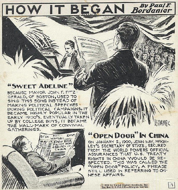 4: Berdanier How It Began 1936 original comic art