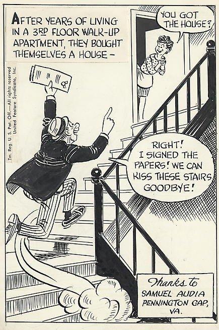 6: Shorten There Oughta Be a Law original comic art