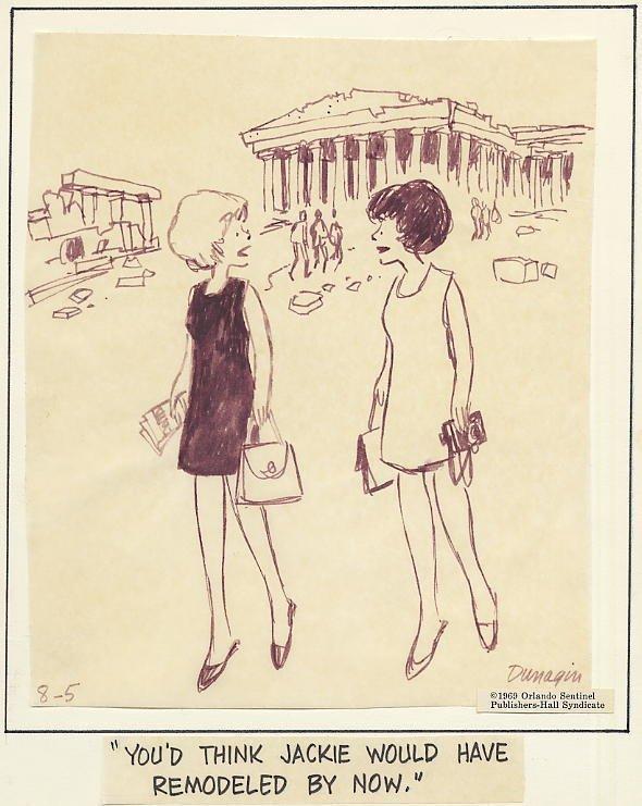 14: Dunigan Dunigan's People 8/5/69 original comic art