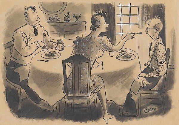 15: Corka Saturday Evening Post 8/25/41 original comic