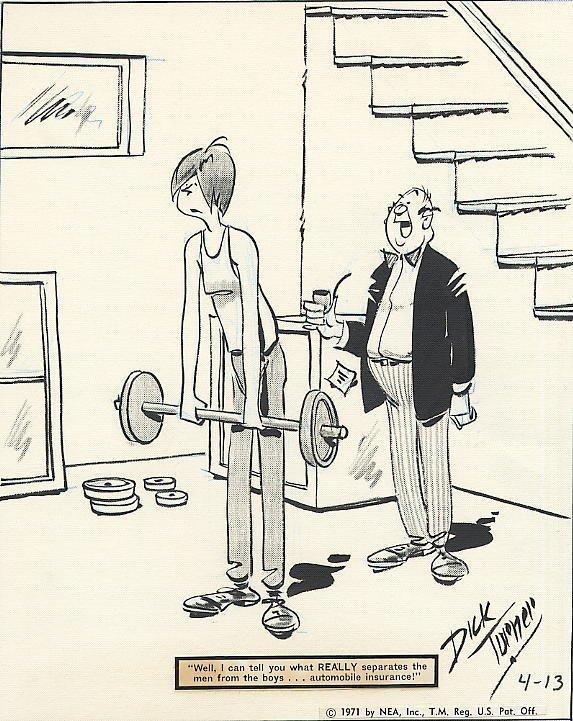 16: Turner Carnival daily 4/13/71 original comic art