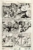 181: Tuska Ka'anga #7 pg 1951 original comic art