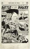 190: Andru Esposito Our Army at War original comic art