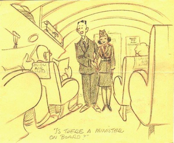 1: Barks magazine cartoon original comic art