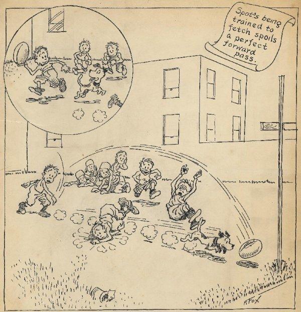 4: Fox Toonerville Folks circa 1930 original comic art