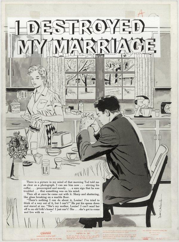 164: Orlando Confessions Ill #2 10p original comic art