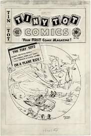 169: Geller Tiny Tot 9 1947 complete original comic art