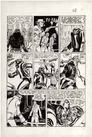 166: Kurtzman p5 Two-Fisted #20 page original comic art