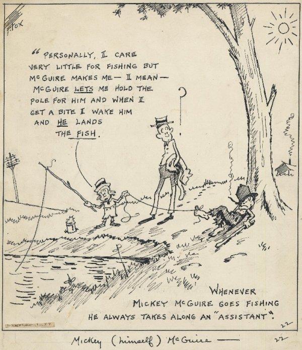 17: Fox Toonerville Folks daily original art