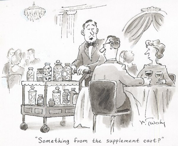 19: Twohy gag cartoon New Yorker 2/16/98 original art