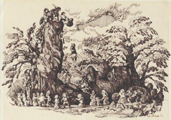 3: O'Brien 3 fantasy illustrations original comic art