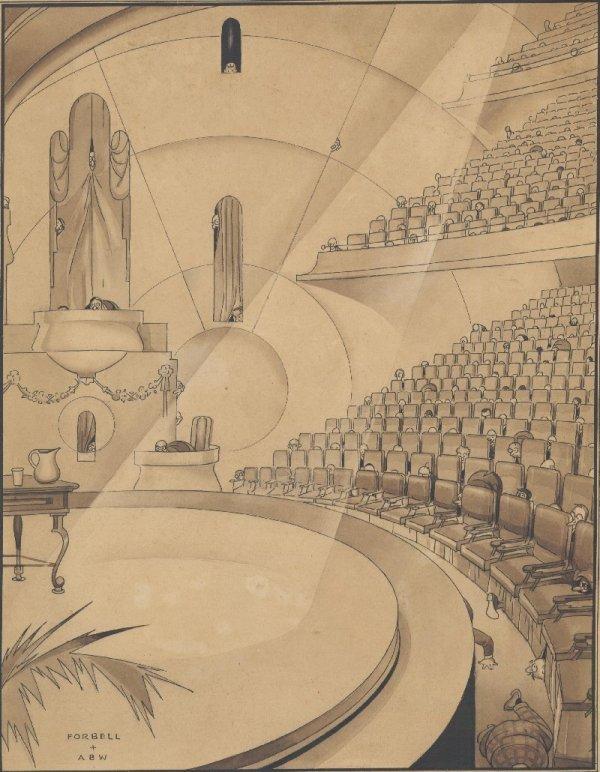 5: Forbell cartoon Judge c1930 original comic art