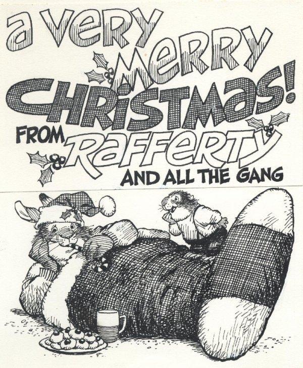 9: Crawford 37 Rafferty Rabbit original comic art