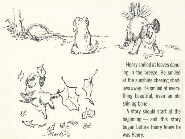 10: Aragones 2 Harry the Smiling Dog original comic art