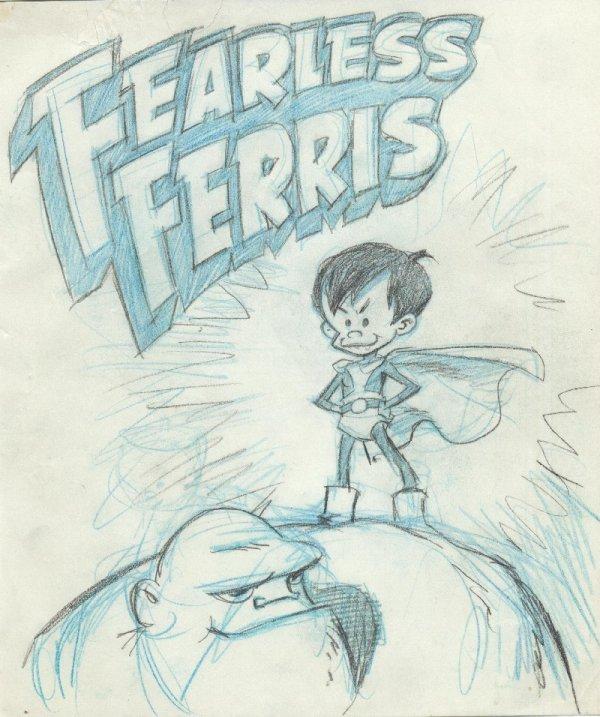 20: Wood 2 Ferris and the Misfits original comic art