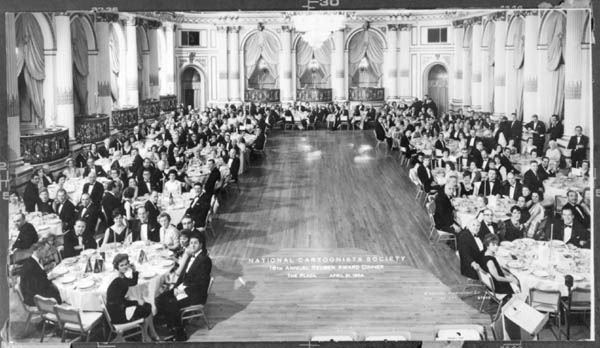 5: National Cartoonists Society Award Dinner photo 1964