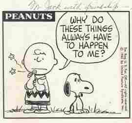35: Charles Schulz Peanuts daily 9/29/65