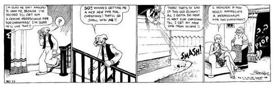 272: Martin Branner, Winnie Winkle daily 12/22/28