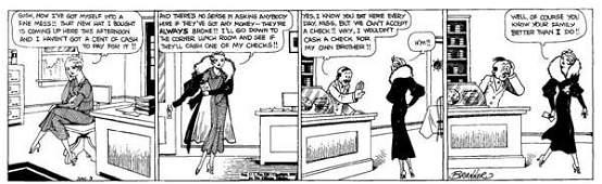 273: Martin Branner, Winnie Winkle daily 1/3/33