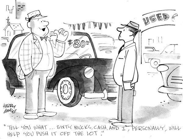 2: Harry Mace 6 magazine cartoons
