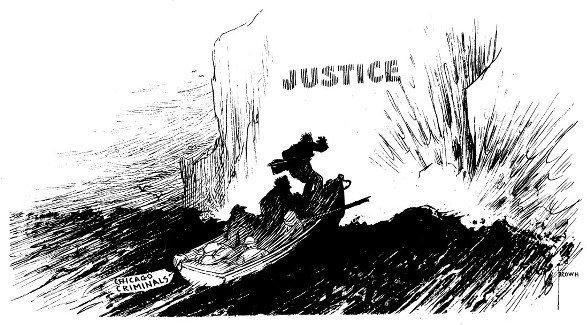 14: T. Brown  editorial cartoon 1940s