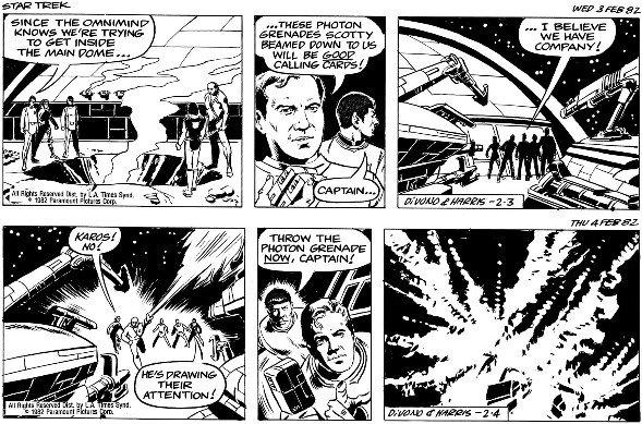 21: Divono/Harris 2 Star Trek dailies 1982