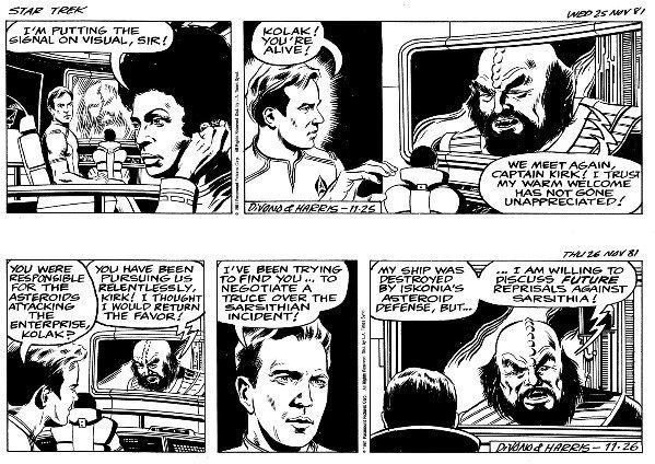 22: Divono/Harris 2 Star Trek dailies 1981