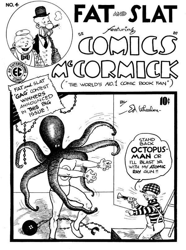 162: Ed Wheelan Fat and Slat #4 cover 1948