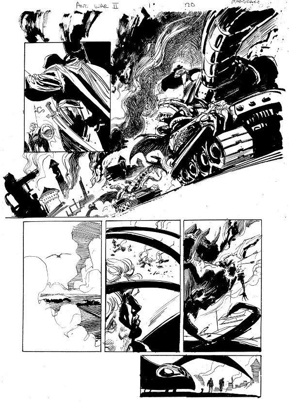 190: Mandrake/Sienkiewicz Urza-Mishra #1 p 20