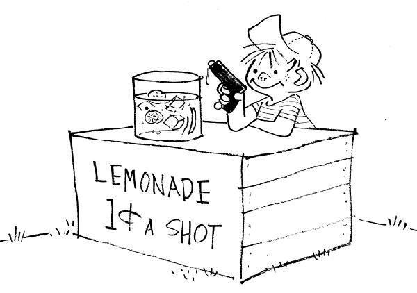1: Jack Tippit 9 magazine cartoons