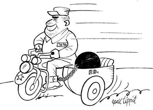 1: Jack Tippit 9 magazine cartoons - 2