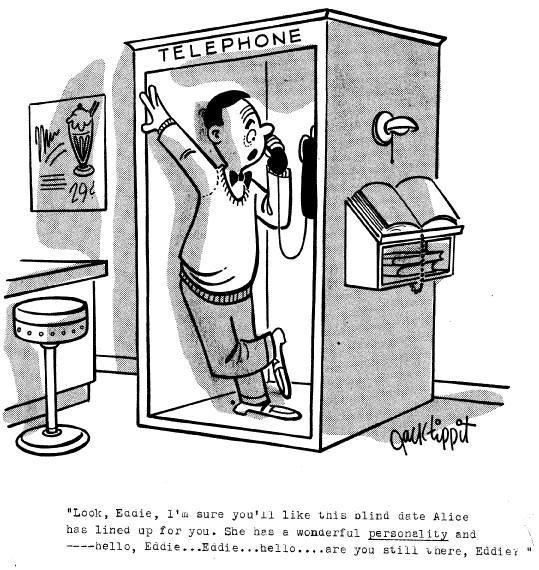 1: Jack Tippit 9 magazine cartoons - 3