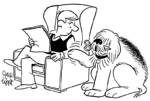 1: Jack Tippit 9 magazine cartoons - 4