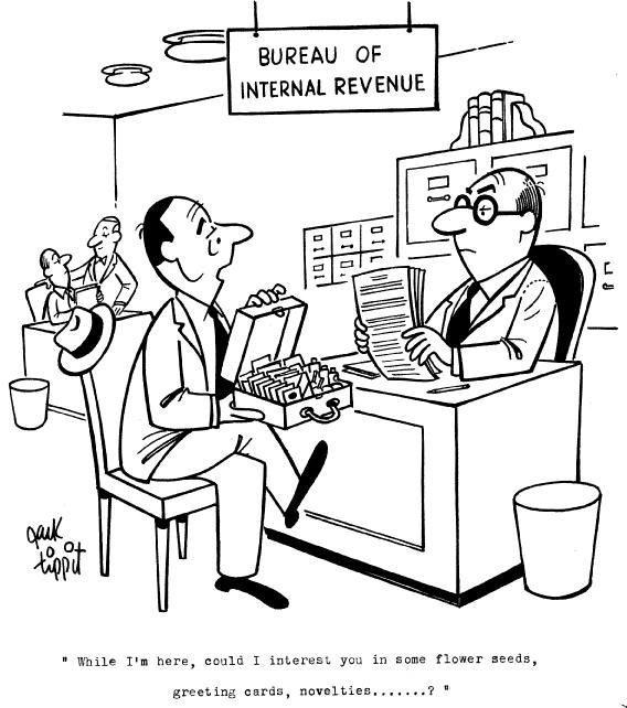 1: Jack Tippit 9 magazine cartoons - 7